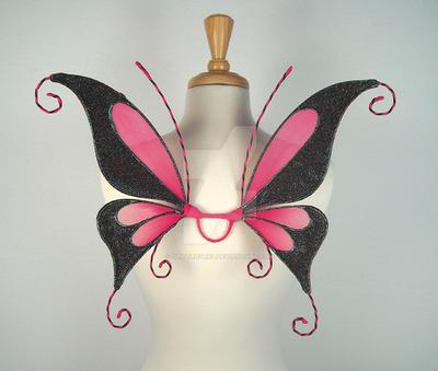 Jenna Fairy Wings by glittrrgrrl