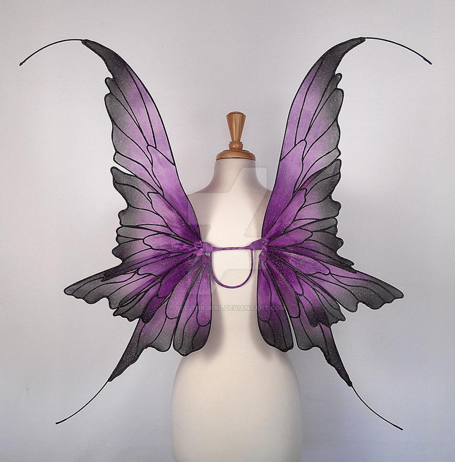 Danielle in purple and black by glittrrgrrl