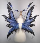 Fairy Wings in Blue Morpho Butterfly pattern