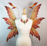 Colleen Fairy Wings  with Matching Necklace