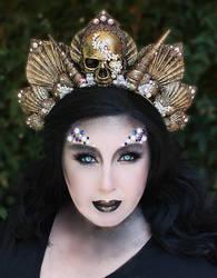Dark Mermaid Crown