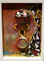 OSTG charity art auction entry by enves