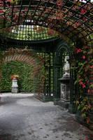 In the park of Linderhof by lightlanaskywalker