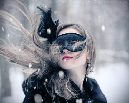 Lady in mask III