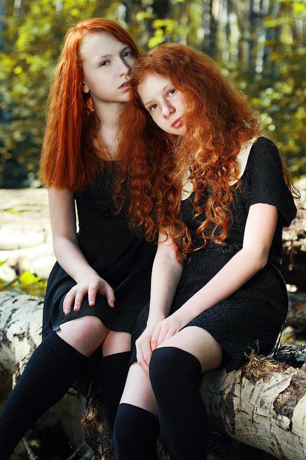 Fire sisters II by lightlanaskywalker