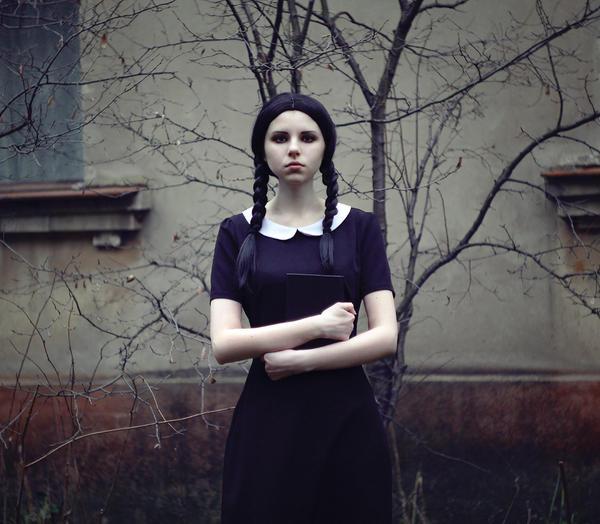 Wednesday Addams III by lightlanaskywalker