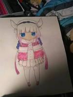 Kanna Kobayashi fan art by tanger33n