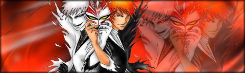 Bleach fanart Hollow Ichigo