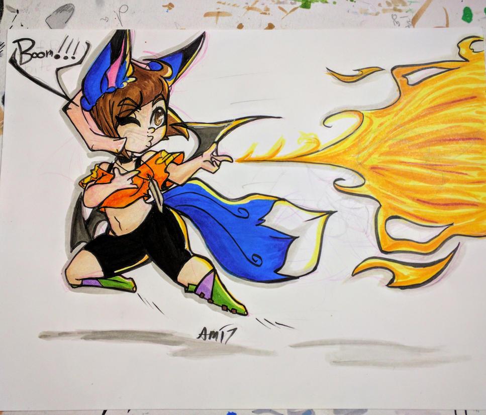 Boom baby!! by Akkai