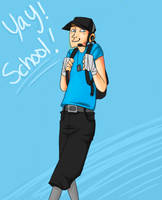 TF2 School Yay by SuperKusoKao