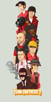 TF2 Group RED by SuperKusoKao