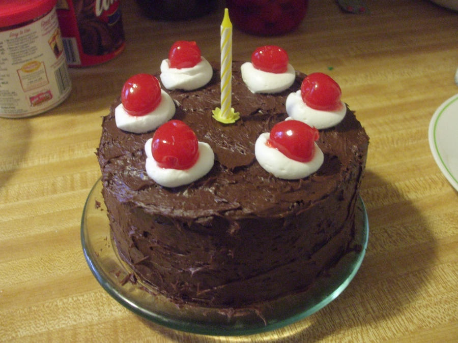 portal bday cake by SuperKusoKao