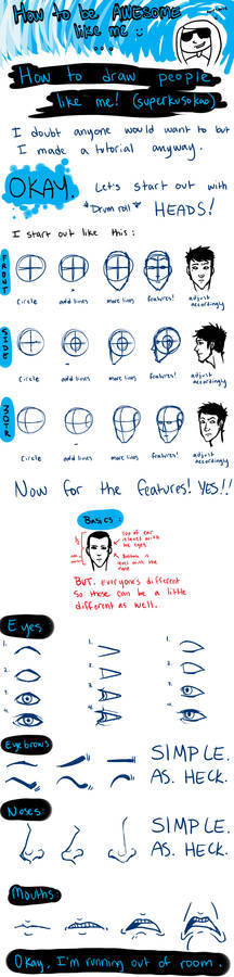 How to draw like ME