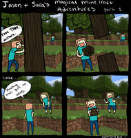 Magical Minecraft Adventures 1 by SuperKusoKao