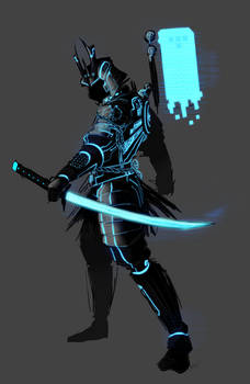 Tron - Tron_Samurai