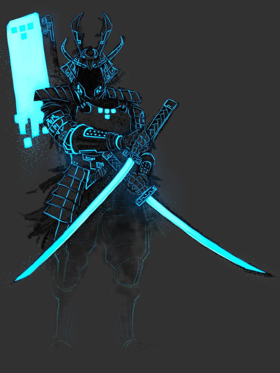 Tron - Tron_Samurai 2 by SuperKusoKao