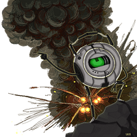 P2 - Rick explosion by SuperKusoKao