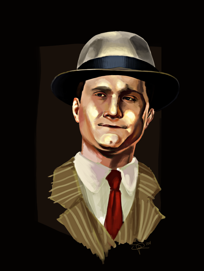 L.A. Noire - Phelps by SuperKusoKao
