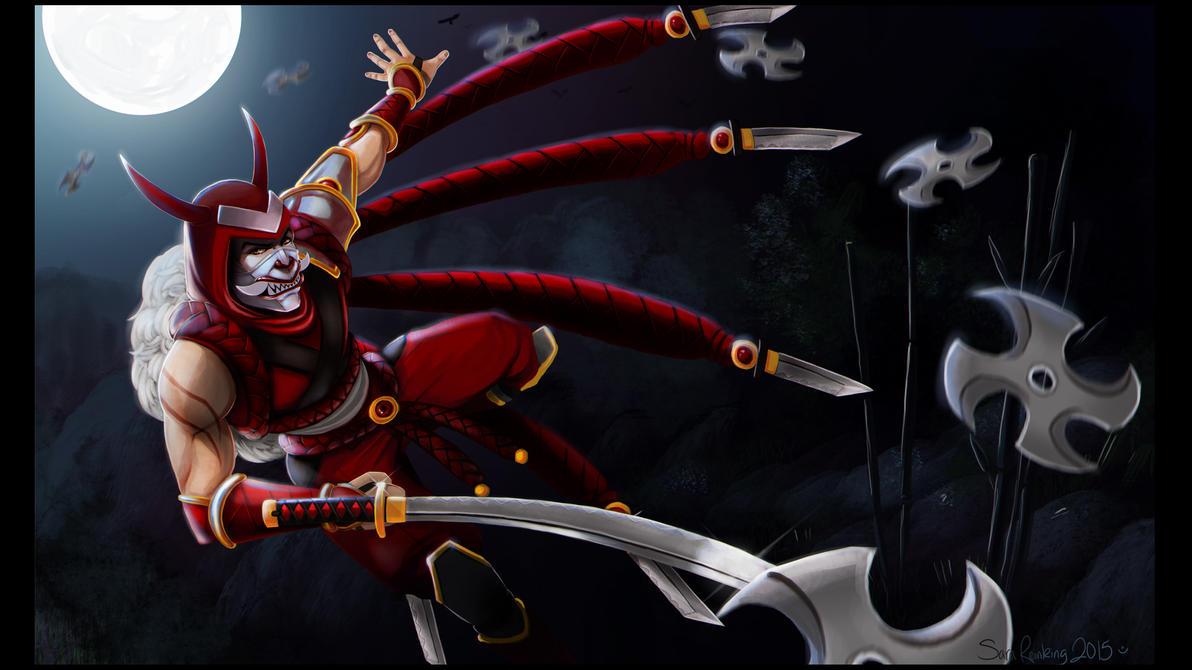 Blood Moon Talon by SuperKusoKao
