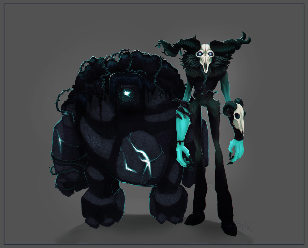 Can We Get A Haunted Ivern Skin For Halloween Pls