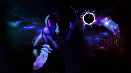 dark star kayn splash by SuperKusoKao