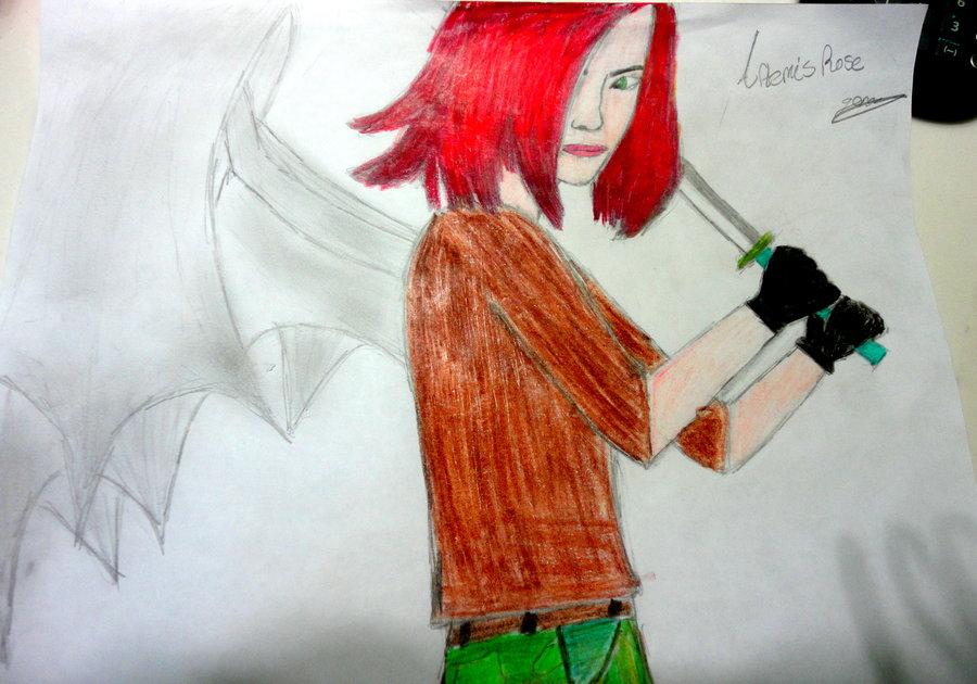 Artemis Rose drawn by:UnkownWyrlds by Sevslover6195