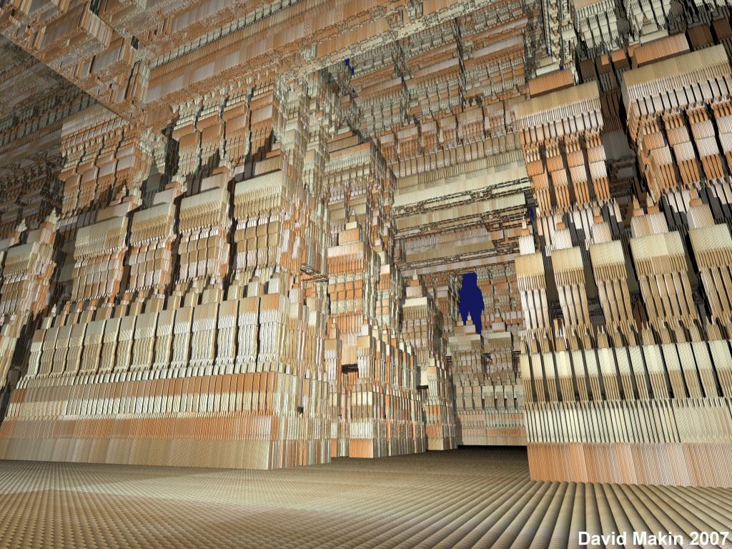 Inside the Sierpinski Temple