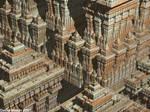 Sierpinski Temple detail