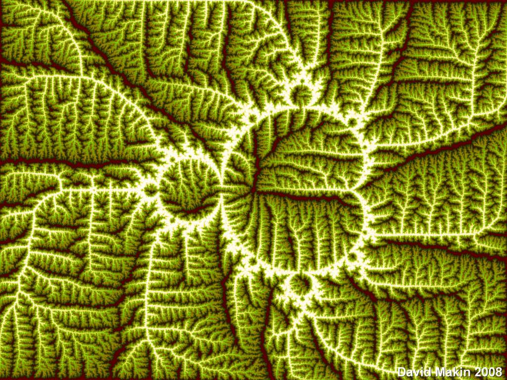 Mandelbrot Leaf by MakinMagic