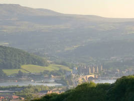 Conwy in the sun by MakinMagic