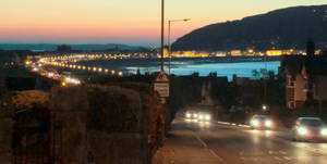 Llandudno Bay at night by MakinMagic