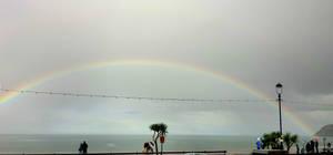 Llandudno rainbow (right)