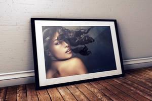 FREE Studio Photo Frame PSD Mockup by Layerform