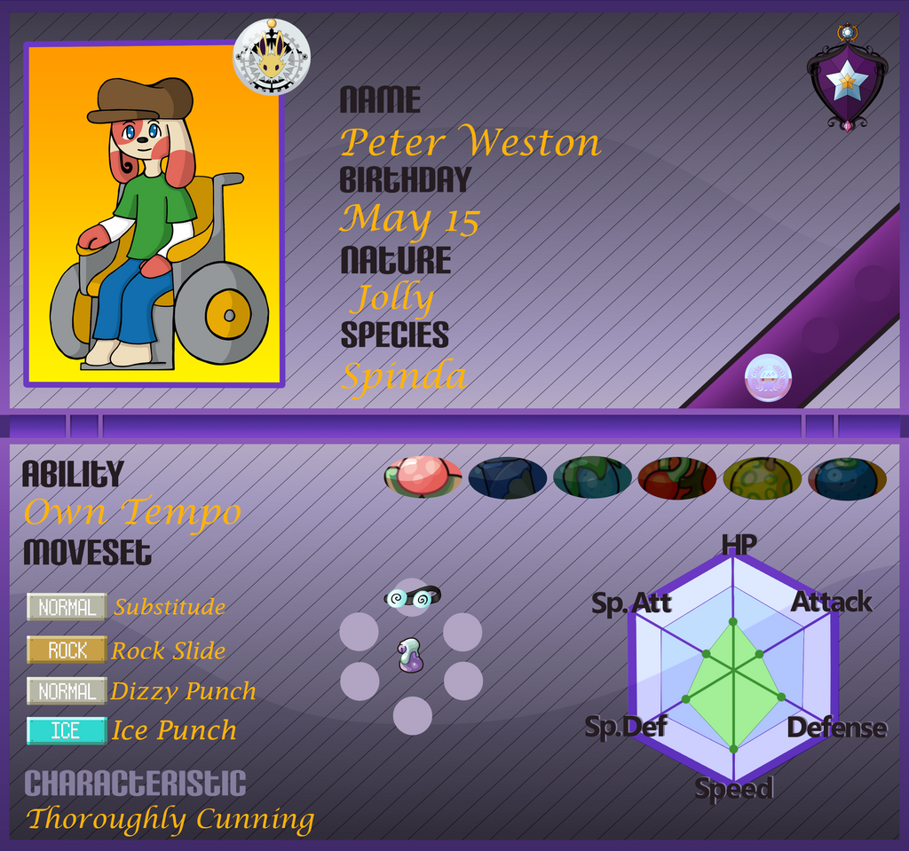 PKMN Armonia App: Peter Weston No2 by YingYang-girl