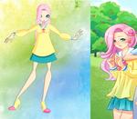 My little pony-Winx: Fluttershy