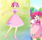 My little pony-Winx: Pinkie pie