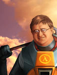 Gabe Newell, the Hero of Us All