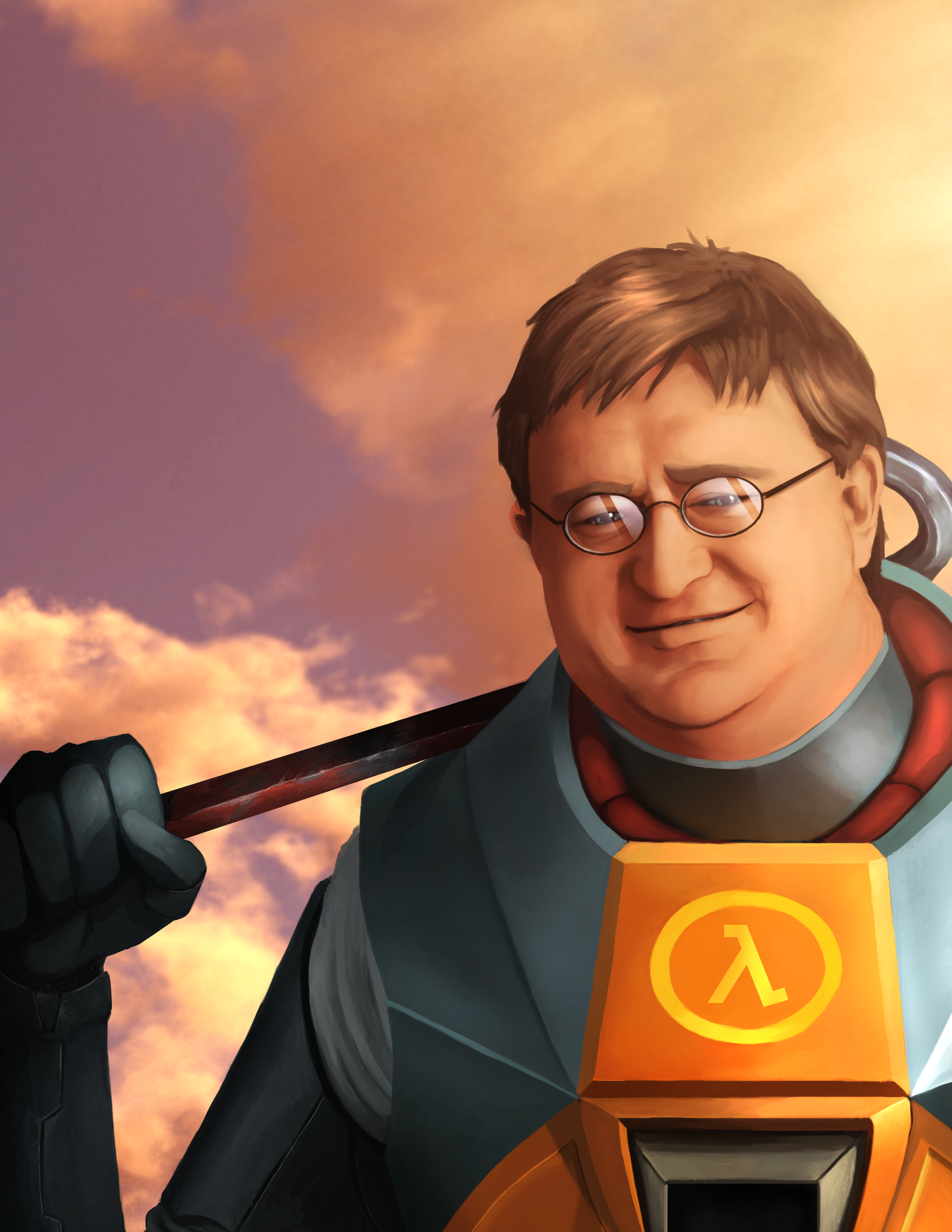 Gabe Newell, the Hero of Us All by RadulfGreyhammer