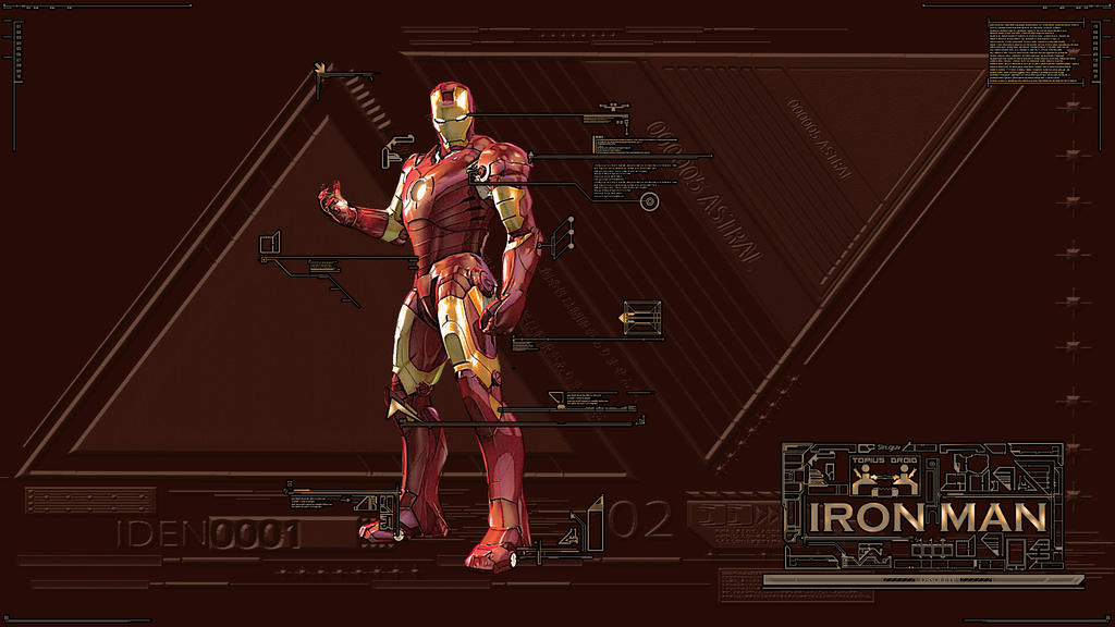 Iron Man  chocolateVer. by SinOfU