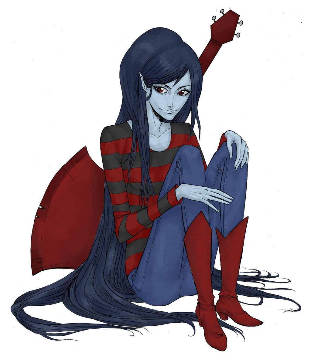 Beautiful Queen Marceline by Stilletta