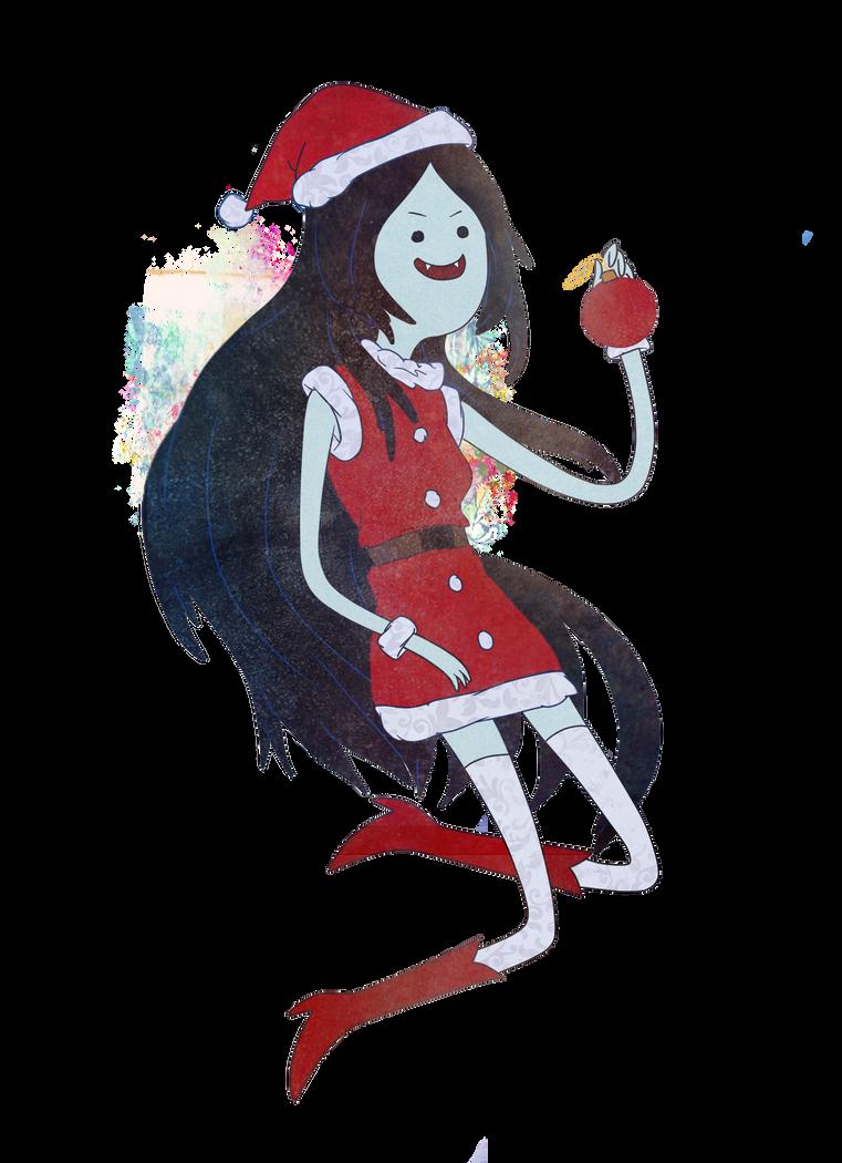 Marceline Christmas by Stilletta