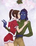 Christmas holidays Kitty and Kurt
