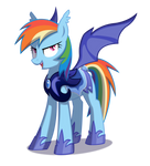 Rainbow Dash Lunar Guard
