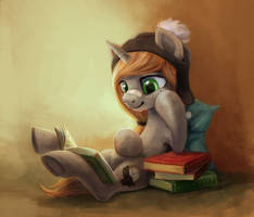 reading pone by pondis-dant