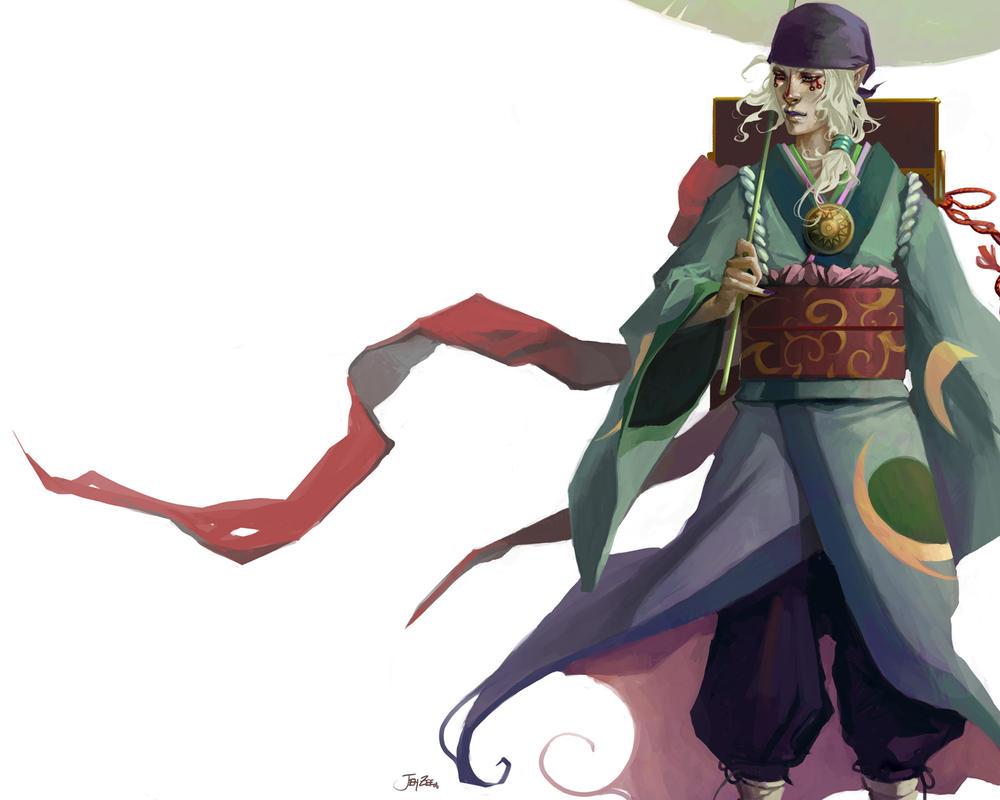 Mononoke Wallpaper by JenZee