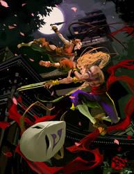 SF Tribute - Ibuki vs. Vega by JenZee