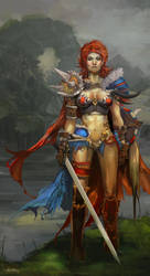 Red Sonja by JenZee