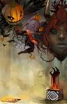 Gaia Halloween Storybook Pg 7
