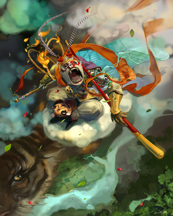 Chinese mythology story