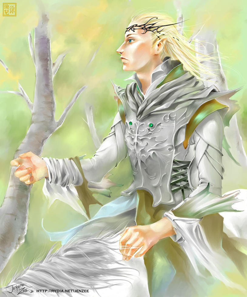 Lord of the Rings : Glorfindel by JenZee